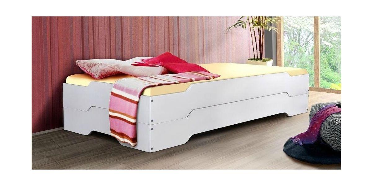 1 1 2 mands seng 2 I 1 DELUXE SENG. LIGGEMÅL 90 X 200 CM 1 1 2 mands seng
