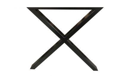 X BEN TIL PLANKEBORD. SORT