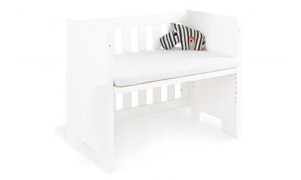 Pinolino Bedside Crib med madras, Lille Sky