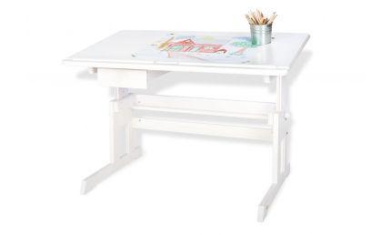 Pinolino Børne-Skrivebord, Lena/Hvidlakeret træ