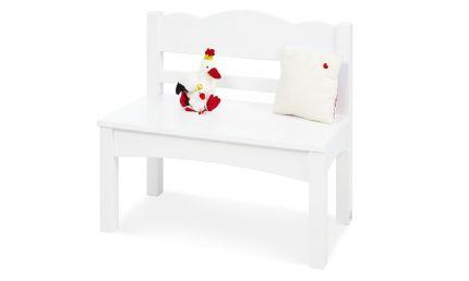 Pinolino Børnebænk, Martha/Hvid/Træ