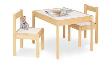 Pinolino Børnebord og Stolesæt, Olaf/Lakeret