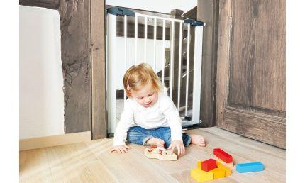 Pinolino Dør-og Trappe Sikkerhedsgitter, Baby Lock Premium, Bøg/lakeret