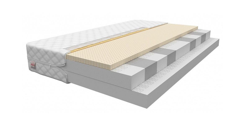 Manaya Bitonto - 9 komfortzoner - Med HR skum og latex - 15 cm