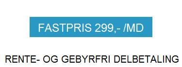 Fastpris 299